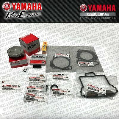 2016 2017 Yamaha Yz250F Yz 250 F 250F Complete Oem Top End Piston Kit W/ Gaskets