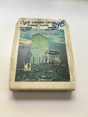 The Who Who's Next 8 Track Classic Rock 6-9182 Decca