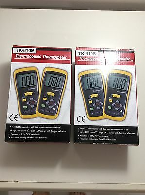 Dt-610B Single Input K-Type Thermometer