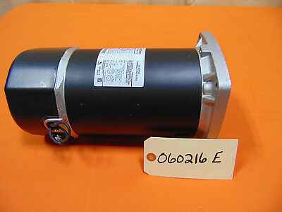 1 HP Square Flange Pool Spa Pump Electric Motor 3450 RPM 115/230V