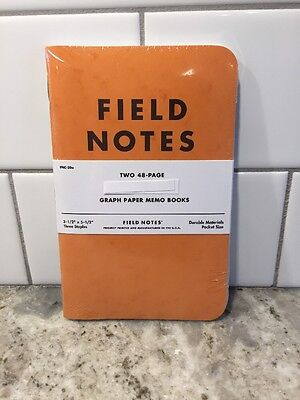 Field Notes Subscriber Commemorative Reprint Pack Butcher Orange Extra Blue New