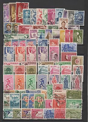 Viet Nam Sud South Viet-Nam 1950-1974 130 Timbres Obli/neufs 130 Stamps Mnh/used