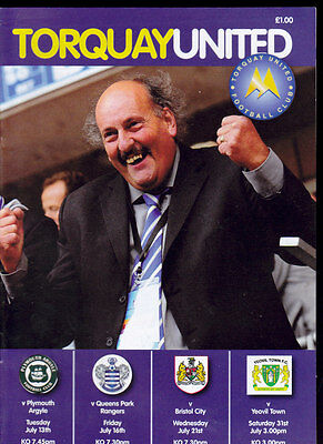 2010/11 Torquay United V Plymouth Queens Park Rangers Bristol City Yeovil Town