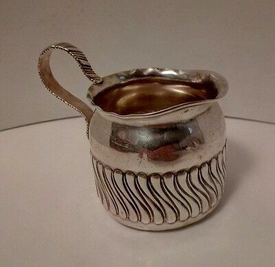 1886 GORHAM CO, Sterling Silver Creamer bowl, Authentic Makers Marks