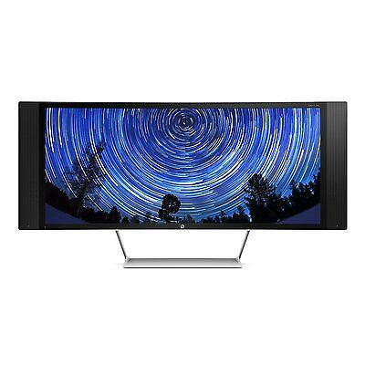 """New HP ENVY 34c 34"""" Widescreen LED Backlit Curved LCD Monitor 3440 x 1440"""