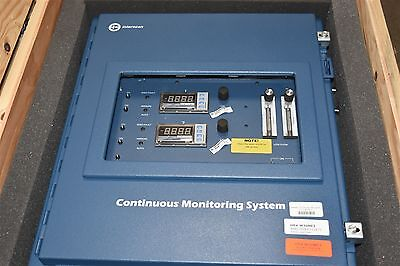 Interscan LD217 Two Point Continuous Gas Monitoring System Hydrogen Cyanide HCN