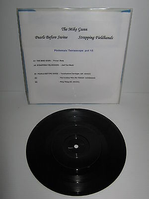 """THE MIKE GUNN, PEARLS BEFORE SWINE, STRAPPING FIELDHANDS – 7"""" EP 33rpm"""