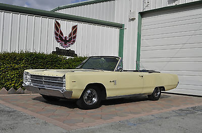 1967 Plymouth Fury 2 dr convertible 1967 Plymouth Fury Sport III Convertible