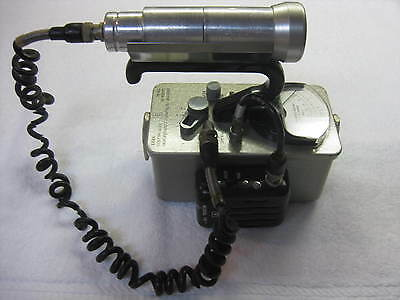 Eberline E-120 Geiger Counter with Probe and Model SK-1 Speaker
