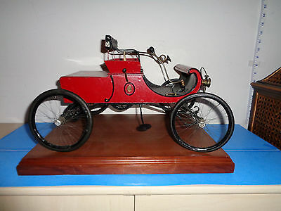 Vintage 1940's Hand Made Model of 1905 Curved Dash Oldsmobile by Arthur Salmons