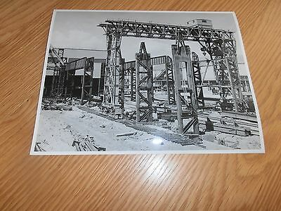 1950s Photo, Melting Shop Extension SCOW, Abbey works, Port Talbot,