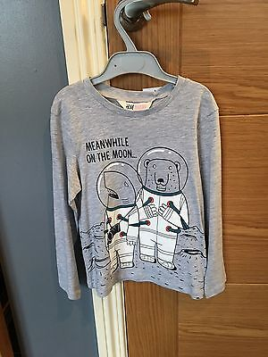 NWT Boys H&M Top 4-6 Years