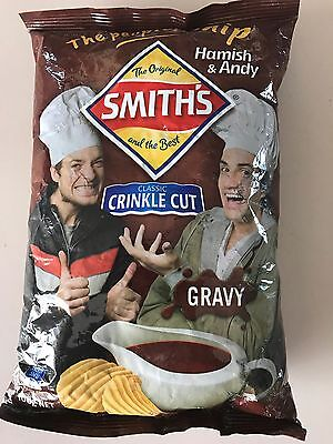 Hamish And Andy Gravy Chips, The People's Chip! Very RARE!!