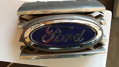 "Genuine ""FORD"" Front Grille Oval Badge. Falcon AU/BA/BF, Territory SX/SY. 145mm"