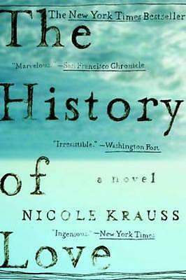 NEW The History of Love By Nicole Krauss Paperback Free Shipping