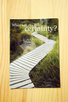 When Will You Have Certainty?