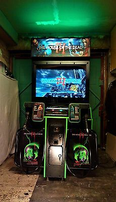 The House Of The Dead  3 (III)  Arcade Shooting Game Machine