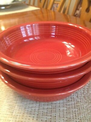 Fiestaware  Papika Cereal / soup Bowls Set of 3