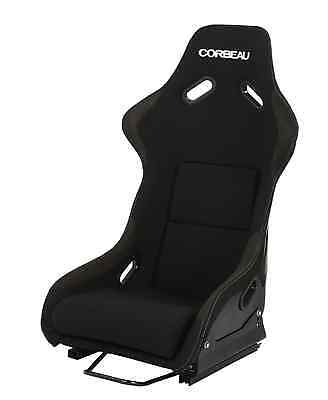 Corbeau Club Sport (STD) GRP Track Race Bucket Seat (Mounts & Runners Inc) BLACK