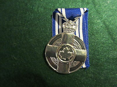 Canadian Meritorious Medal  COPY With Ribbon
