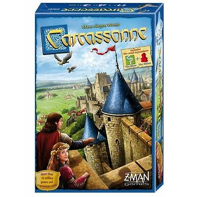Carcassonne Revised Edition Board Game Brand New