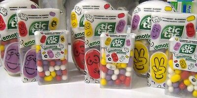 Tic Tac EDITION EMOTIONS with printed MIX flavour 18g PASSION FRUIT, CHERRY, +