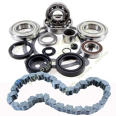 Hummer H3 Transfer Case Bearing Rebuild bearing and Chain Kit BW 4493 2007 - On