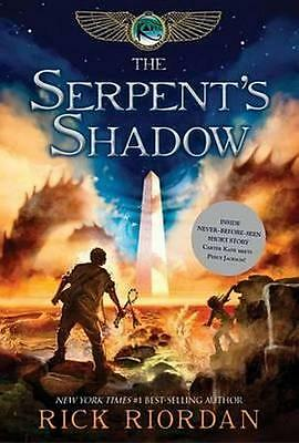 NEW The Serpent's Shadow By Rick Riordan Paperback Free Shipping