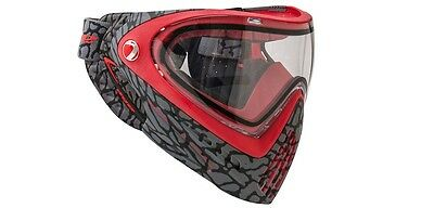 Paintball Maske DYE I4 Skinned Red