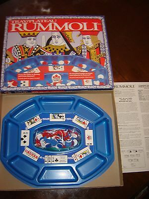 Vintage Canada Games Rummoli Table Top Tray Game with Chips  - EUC