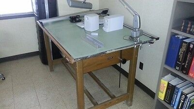 Dietzgen Drawing Table and Arm