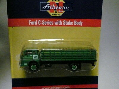 """Athearn """"N"""" Burlington Northern BN Ford 'C' Series Stake Bed 1:160 (2 PHOTOS)NEW"""