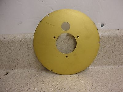 "Movement and Dial Mounting Plate For 6"" Chelsea Deck Clock Phenolic Case"