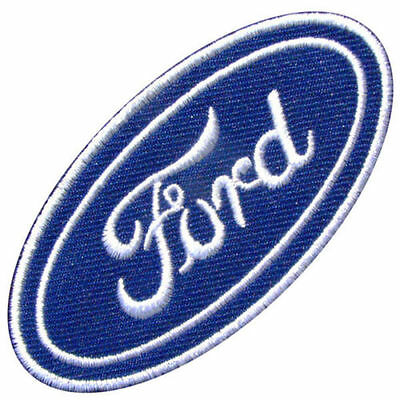 Ford GP Motor Sport Car Logo Iron on Patch