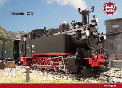 LGB G Scale New products catalog 2017