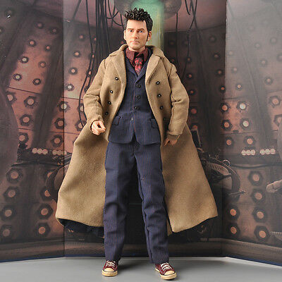 BBC Doctor Who 1/6 Doctor 10th David Tennant Male Figure Anniversary Ver. Model