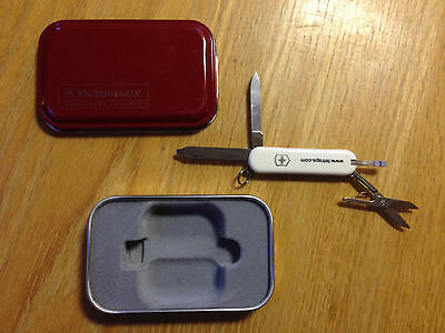 New Victorinox Swiss Army 58mm Knife with Box