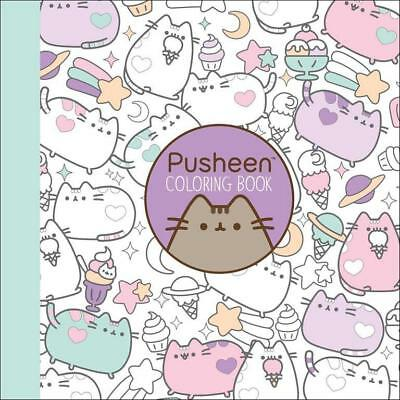 NEW Pusheen Coloring Book By Claire Belton Paperback Free Shipping