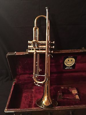 Vintage Revere Special #1131 Trumpet With Olds #3 Mouth Piece & Case