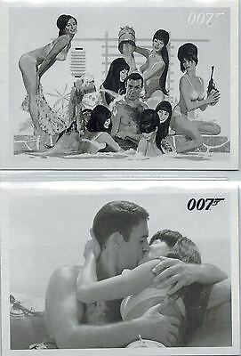 *James BOND: «You Only Live Twice» Throwback Complete Set of 78 Cards