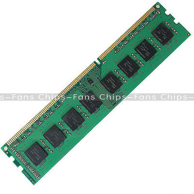 4GB DDR3 1600MHz 240Pin PC3 12800 Desktop PC DIMM Memory RAM For AMD CPU ONLY CF
