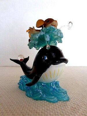 """Fitz & Floyd Charming Tails """"Have'In A Whale Of A Time"""" Item :89/267"""