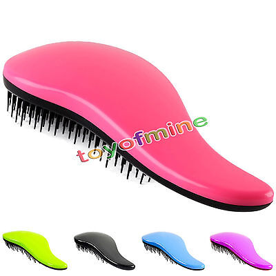 Professional Detangle Brush Paddle Beauty Healthy Styling Care Hair Comb