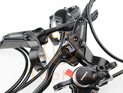 New SHIMANO BR-BL-M315 MTB bike Hydraulic Disc Brake Set Front and Rear Black