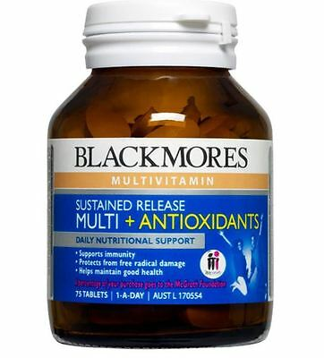 Blackmores Sustained Release Multi + Antioxidants 75 Tablets