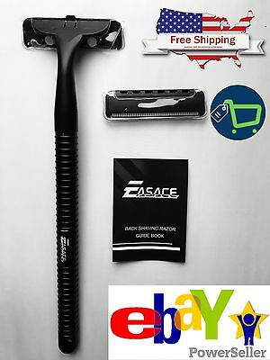 New Back Blade - Mens Back Hair Shaver Removal Razor Body + Free replacement