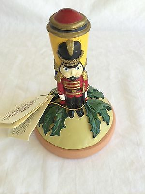Shaker Hearth Cookie Press Toy Soldier 1997 w/recipe booklet classic shortbread