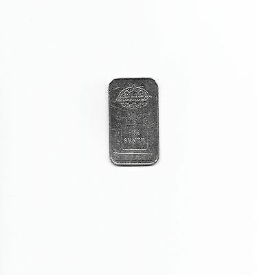  Extremely Rare Canadian Engelhard 1/2 Oz .999 Silver Bar
