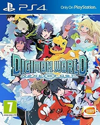 New Digimon World Next Order (PS4, Playstation 4)