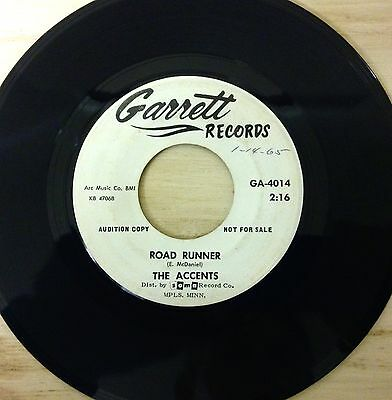 Road Runner - Why - The Accents - Cover Of Bo Biddley Classic - U.s Press